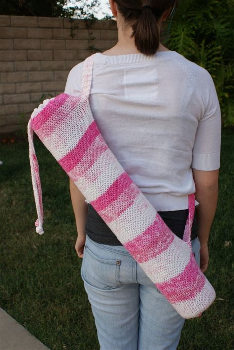 yoga mat bag knitting pattern 17 best images about yoga mat on pinterest free pattern