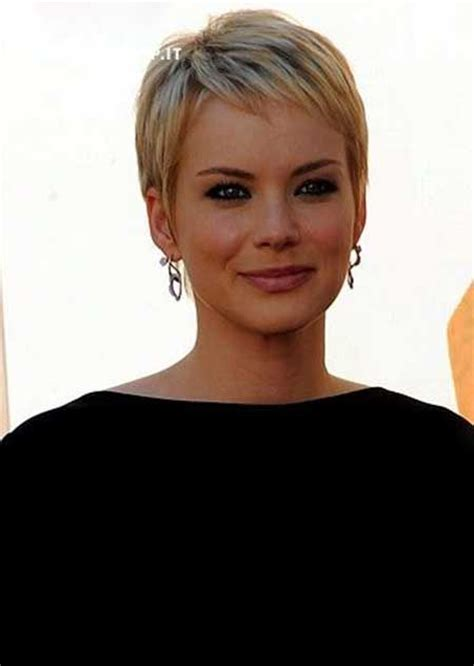 platinum pixi cut with brown highlights 25 glamorous pixie hairstyles 2014 2015 platinum