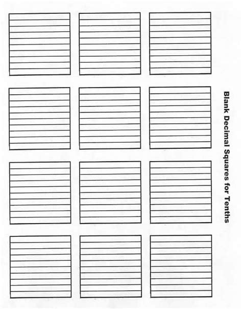 printable grid paper for decimals image gallery tenths grid