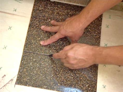 How to Lay Terrazzo Floor Tile   how tos   DIY