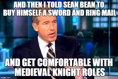 Sean Bean Meme Generator - who gets the credit for boromir urlich or eddard stark