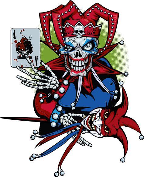 wild card tattoo evil jester to be evil jester