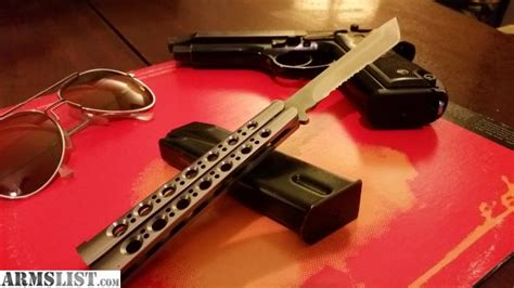 benchmade balisong sale armslist for sale benchmade model 44 balisong tanto blade