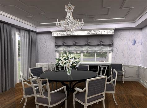 Gray Dining Room by Gray Dining Room Table