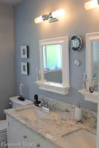 colorful bathroom mirrors morning fog sherwin williams paint colors pinterest