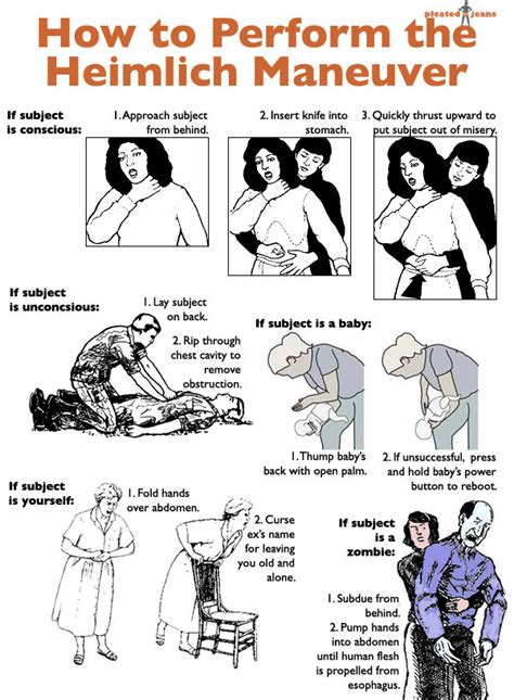 how to do the heimlich on a how to perform the heimlich maneuver pleated