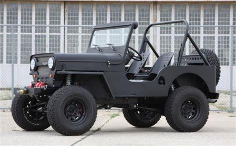 Icon Jeeps Icon Cj3b Willy Jeep Replica Cool Material