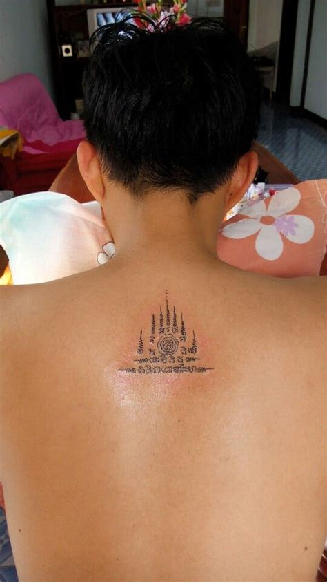 thai tattoo with bamboo by eidemon666 on deviantart 943 best images about sak yant tattoo on pinterest