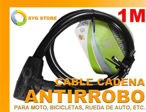 cadena moto seguridad cadena de seguridad anti robo moto bicicleta rueda auto