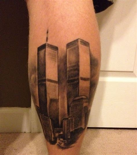 tower 9 11 tattoos tower
