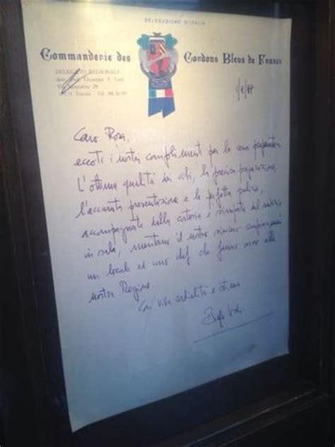 lettere di encomio lettera di encomio all ingresso picture of ristorante