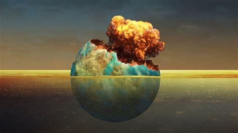 pattern photoshop earth earth explodes photoshop surreal manipulation tutorial