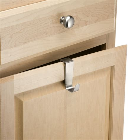 over the cabinet hooks interdesign forma over the cabinet hook the container store