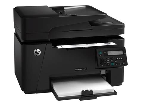 Printer Laser Bw cz181a b19 hp laserjet pro mfp m127fn multifunction printer b w currys pc world business