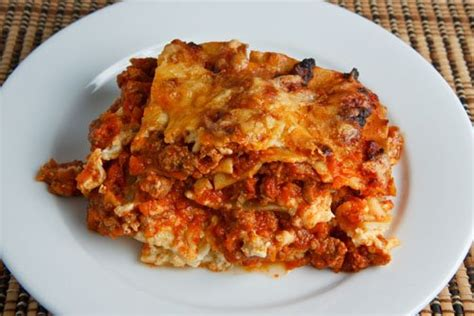 how to make lasagna with cottage cheese and tricia s recipes easy lasagna