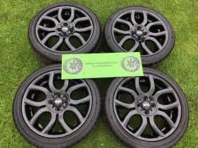 Mini Cooper Wheels And Tyres 4 X Genuine 17 Quot Mini Cooper Alloy Wheels And Tyres