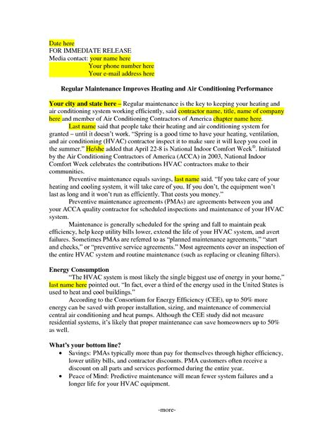 hvac maintenance agreement template refrigeration refrigeration service contract template