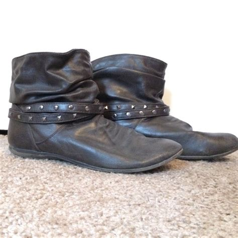 payless brown boots 40 american eagle by payless shoes brown studded