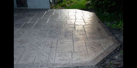 gallery of custom decorative sted concrete patios