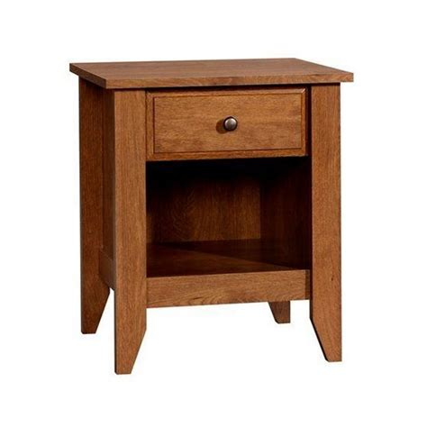 oak night stands bedroom nightstand in oiled oak 410412