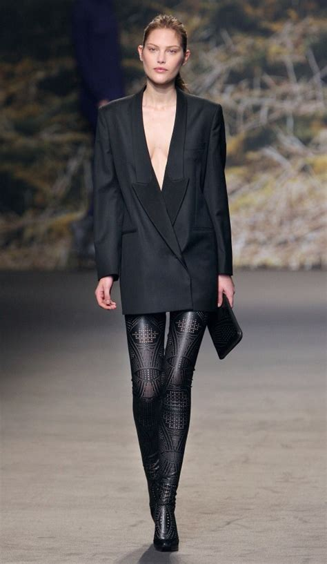 Mannish Chic At Fashion Week by Office Wear Dress For Working Yusrablog