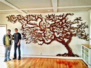 Latest Chandeliers Custom Tree Of Life Rowland Augur Fine Art