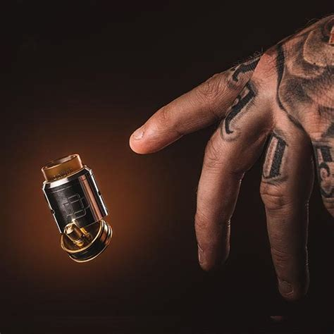 Dpro Rda By Coilart 24mm Not Druga druga rda by augvape black or stainless