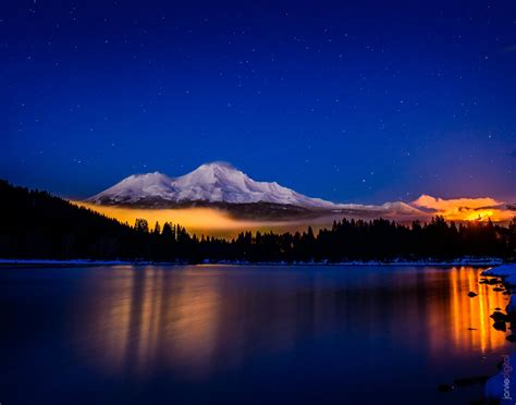 Siskiyou Search Photographing Mt Shasta From Lake Siskiyou