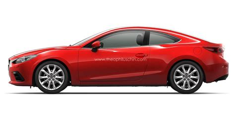 mazda 6 coupe 2014 mazda cars news 2014 mazda3 envisioned as a coupe