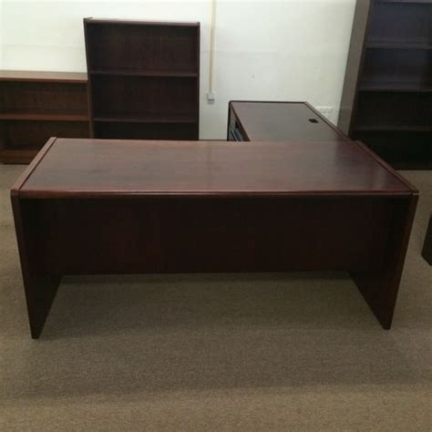 Hon Office Desks Hon Wood L Shaped Desks Tri State Office Furniture