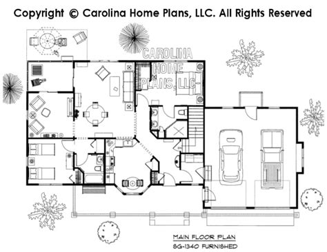 home floor plans carolina 3d images for chp sg 1340 aa small craftsman style 3d