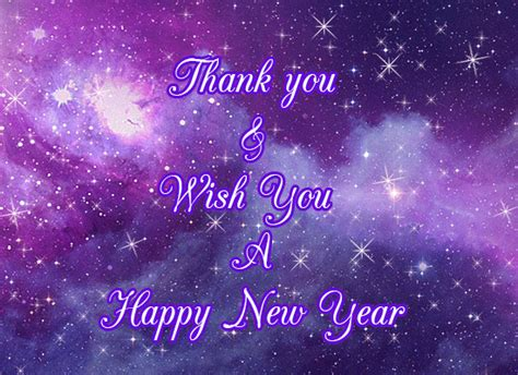 thank you and happy new year free happy new year ecards