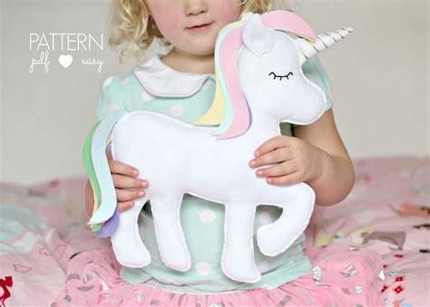 sewing pattern unicorn pdf unicorn pattern unicorn svg felt toy unicorn unicorn