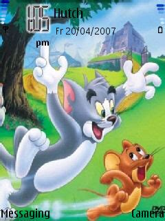 themes of cartoons for mobile download tom and jerry nokia theme mobile toones