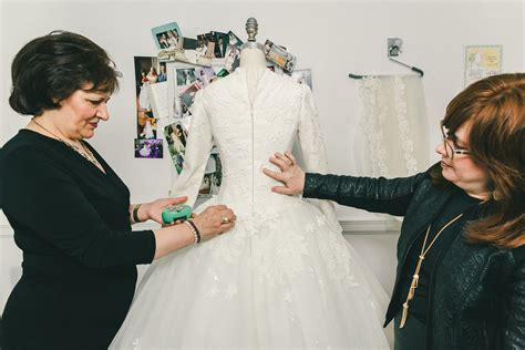 the veil with kleinfeld s modest bridal consultant