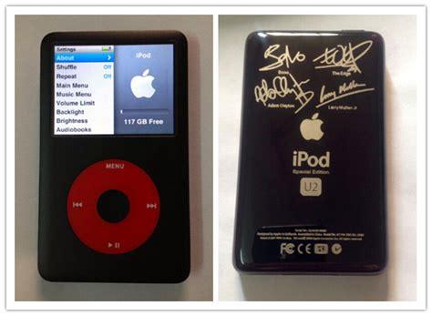 Dia Generation Special Version ipod classic 7th generation u2 special edition 128gb ssd memory 1500mah battery ebay