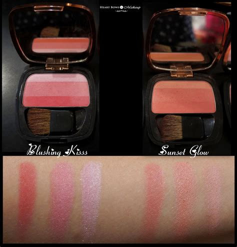 Loreal Lucent Blush Pemerah Pipi Blush On l oreal lucent magique blush of light glow palette swatches price india bows makeup