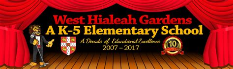 West Hialeah Gardens Elementary by West Hialeah Gardens Elementary Home Of The Lions