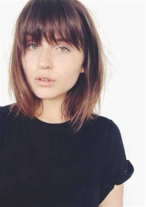 no bangs with fine hair 15 simple hairstyles for short hair short hairstyles