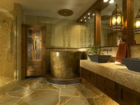 Rustic Bathrooms Designs by Decorating Your Rustic Bathroom Cast Horn Designs