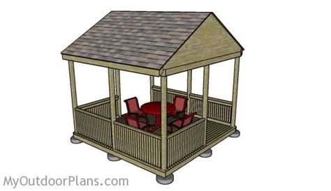 pavilion design plans plans diy free download playhouse 77 best images about free gazebo plans on pinterest diy