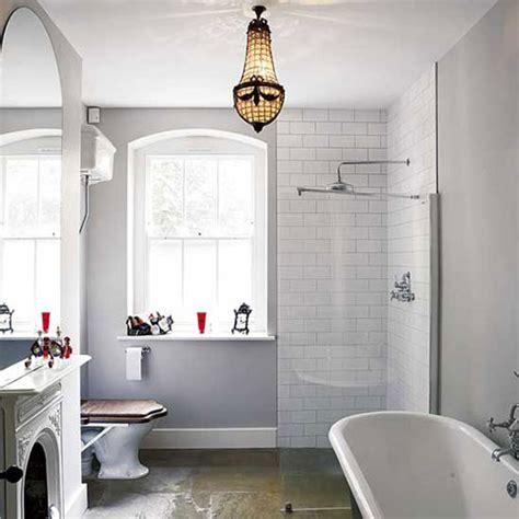 vintage bathroom lighting ideas klassieke badkamer met openhaard badkamers voorbeelden