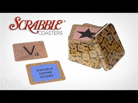 is vac a scrabble word scrabble drink coasters the awesomer