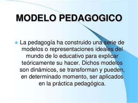 Modelo Curricular Que Es Modelo Pedagogico Rom 225 Ntico