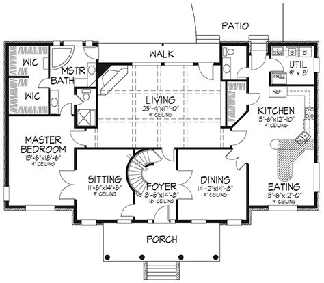 antebellum floor plans meghan southern plantation plan 072d 0074 house plans