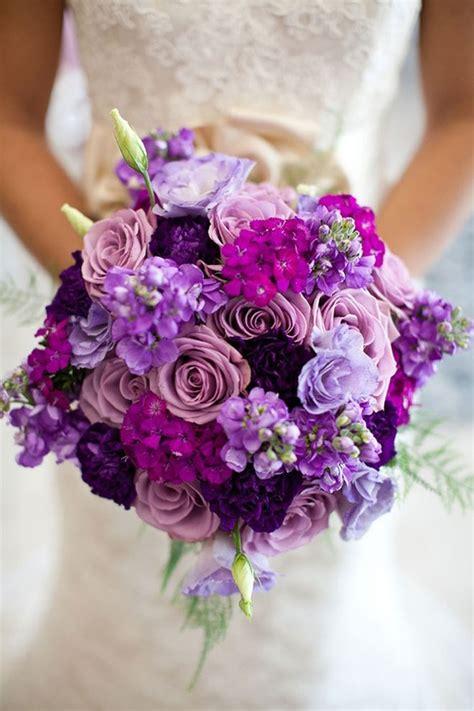 wedding bouquet violets 25 stunning wedding bouquets part 9 bouquets purple