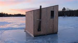 ice fishing house designs pin ice fishing house plans build an hut for 100 on pinterest