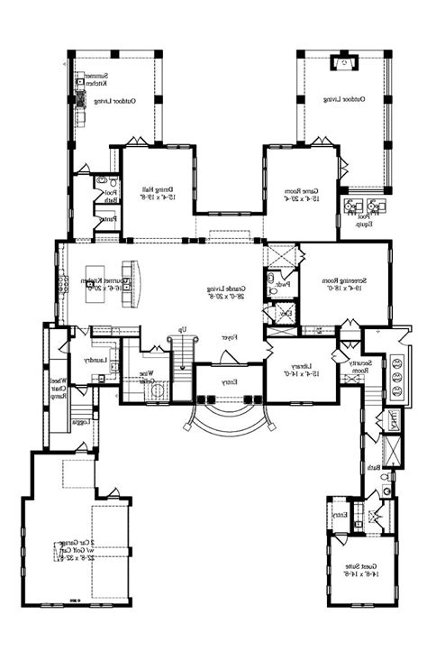 house plan 45416 at familyhomeplans com italian house plans with photos