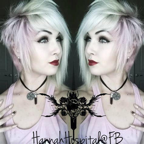 style  short alternative hair emoscenegothpunk