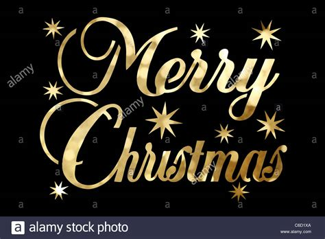 golden merry christmas character isolated  black background stock photo  alamy